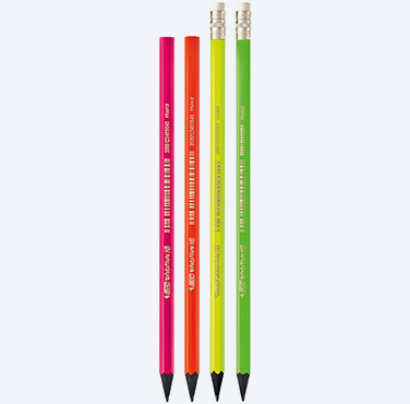 BIC® EVOLUTION® FLUO GRAPHITE PENCILS