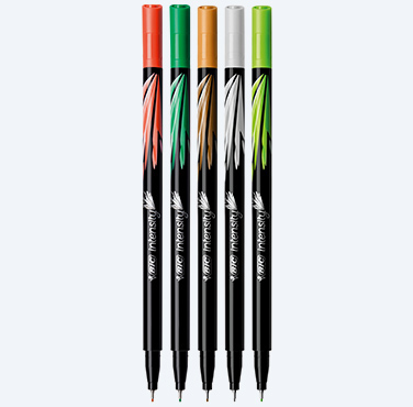 BIC® INTENSITY® FINE FINELINER PENS