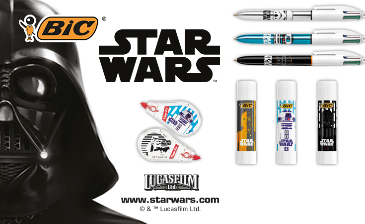 star wars logo and stationery products